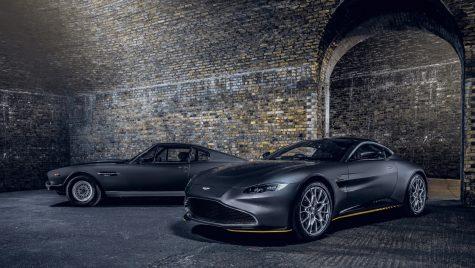 """Ediție specială """"007"""" pentru Aston Martin Vantage și DBS Superleggera"""