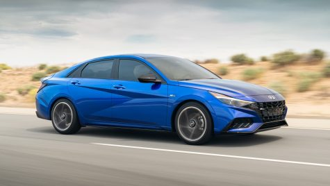 Hyundai Elantra N-Line: 201 CP pentru sedanul compact