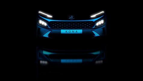 Primele imagini teaser pentru Hyundai Kona facelift