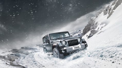 Mahindra Thar: off-roader inspirat de clasicul Jeep Wrangler