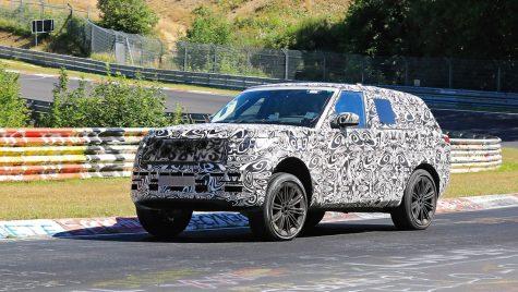 A cincea generație Range Rover vine în 2021 pe platforma MLA