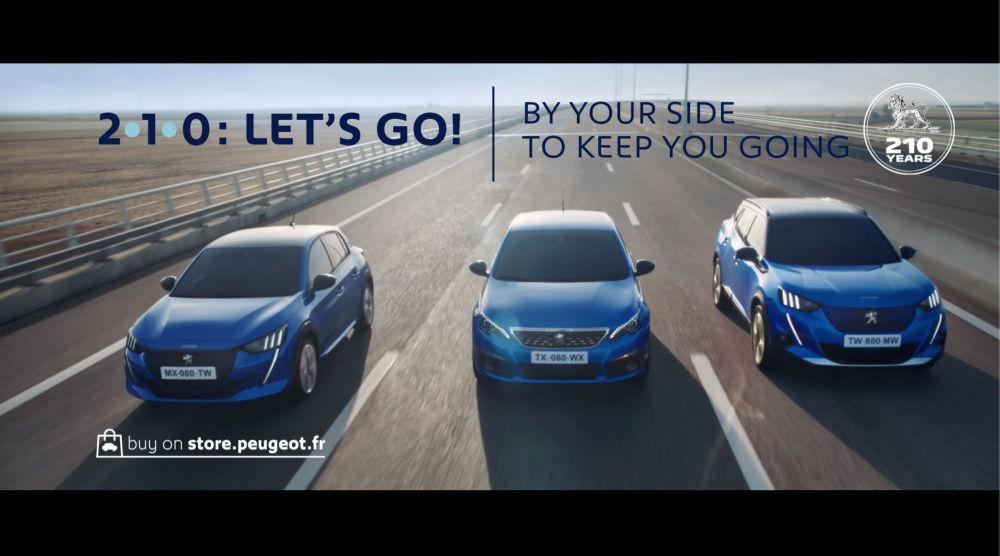 Peugeot aniverseaza 210 ani