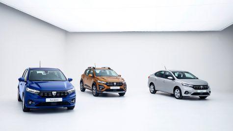 Noile Dacia Logan și Sandero 2021