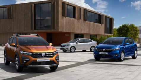 Declin al vânzărilor Dacia în luna august în Europa