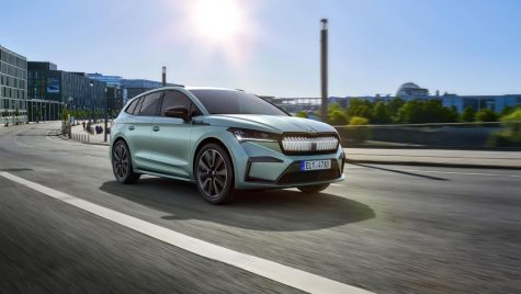 Skoda Enyaq iV va primi o versiune coupe în 2021