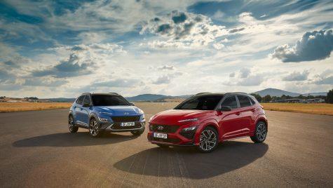 Hyundai Kona facelift: informații și fotografii oficiale