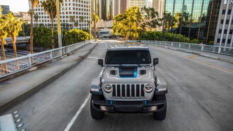Jeep Wrangler 4xe este versiunea plug-in hybrid a off-roaderului american