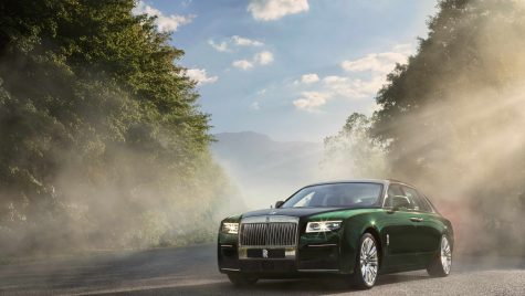 Rolls-Royce Ghost Extended: ampatament mărit cu 170 mm