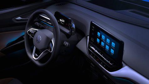 Imagini oficiale cu interiorul modelului electric Volkswagen ID.4
