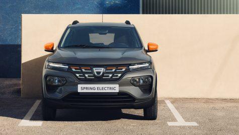 Dacia confirmă că noul model electric Spring va fi produs în China