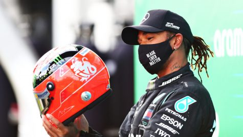 Lewis Hamilton egalează recordul de victorii stabilit de Michael Schumacher în Formula 1