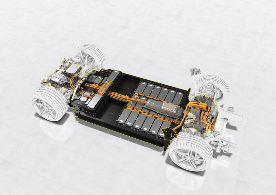 baterie Porsche Taycan 4S