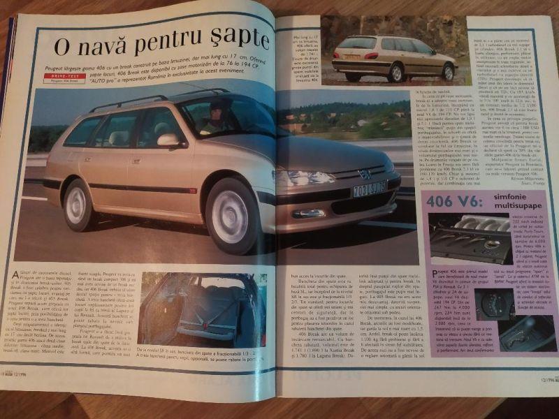 Peugeot 406 break, V6
