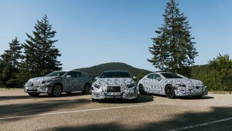 Mercedes-Benz mărește gama de modele electrice: sedan EQE și două noi SUV-uri