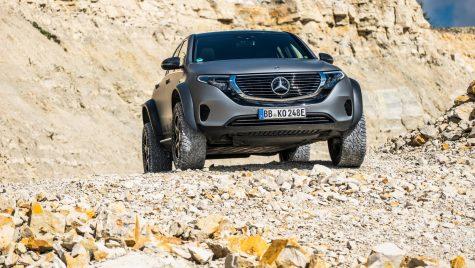 Mercedes-Benz EQC 4×4²: off-roader prototip bazat pe SUV-ul electric EQC