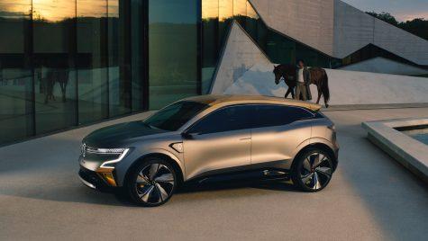 Renault Megane eVision: concept pentru un viitor model electric compact