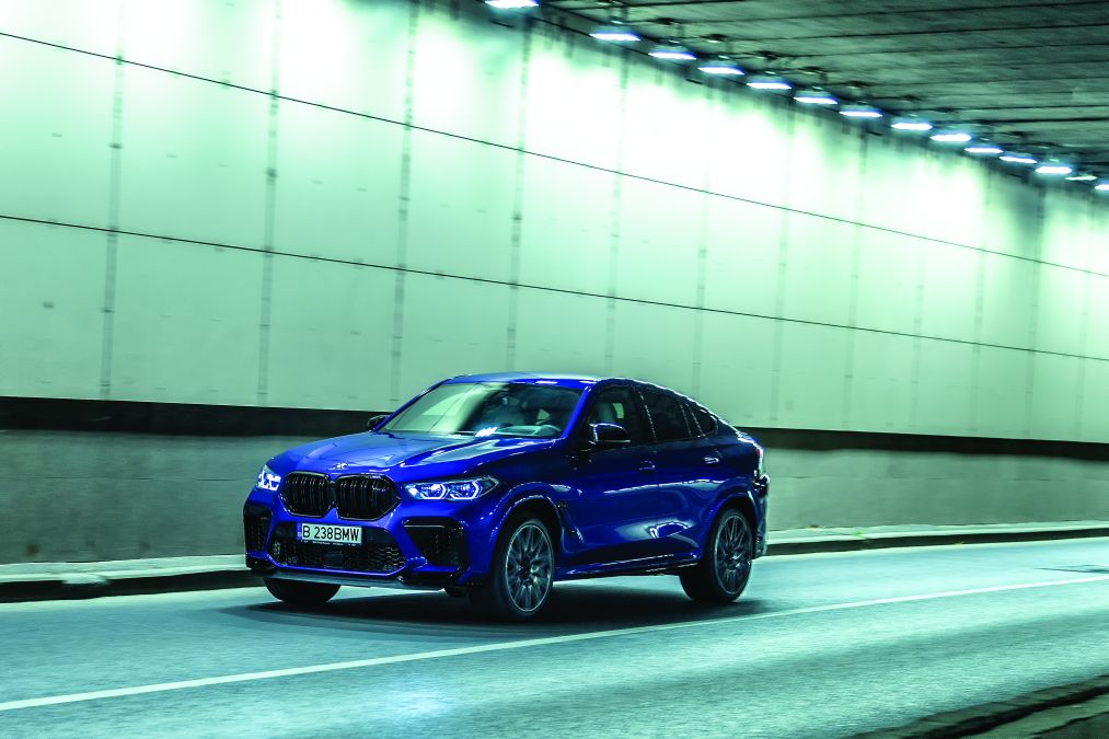test BMW X6 M Competition