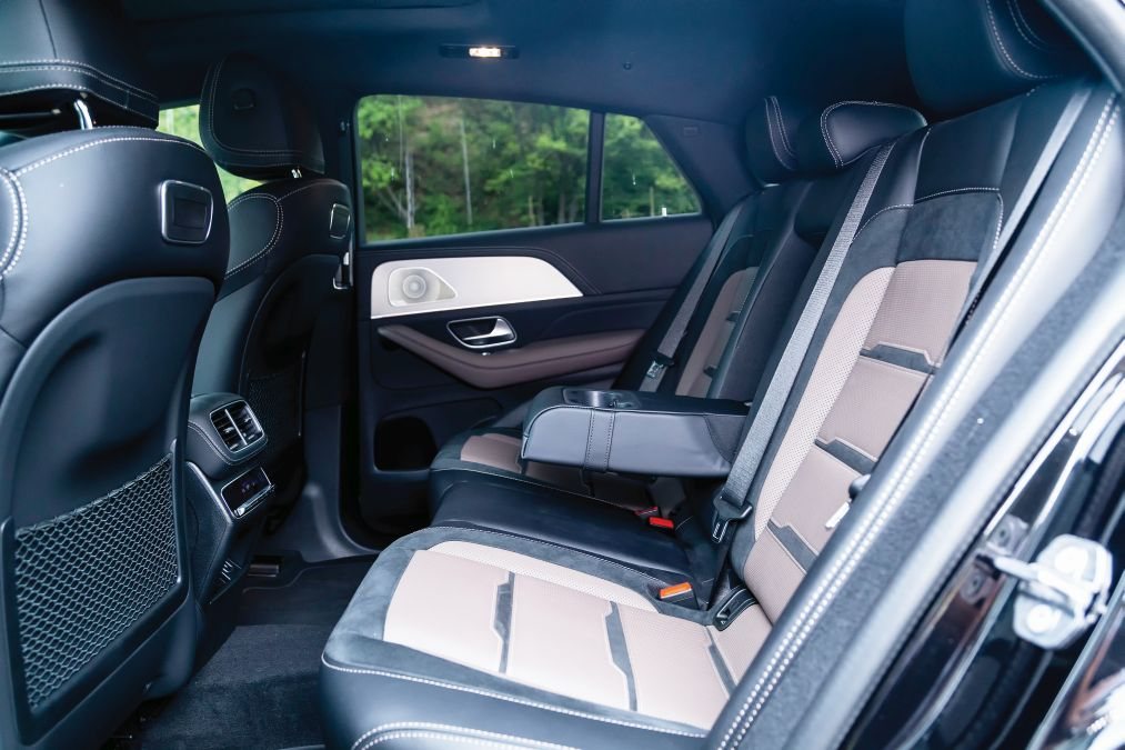 interior mercedes-AMG GLE 53 4Matic Coupe