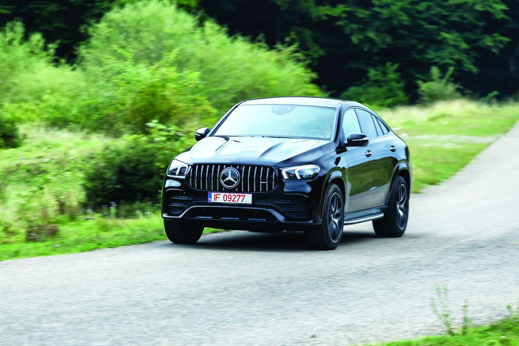 test Mercedes-AMG GLE 53 coupe