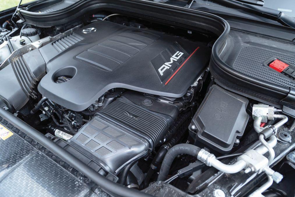 motor test Mercedes-AMG GLE 53 coupe