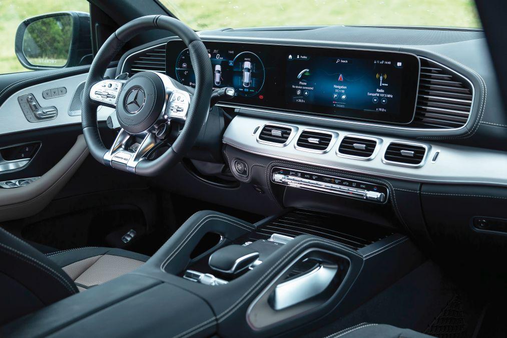 plansa de bord Mercedes-AMG GLE 53 4Matic Coupe