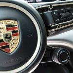 plansa de bord Porsche taycan 4S
