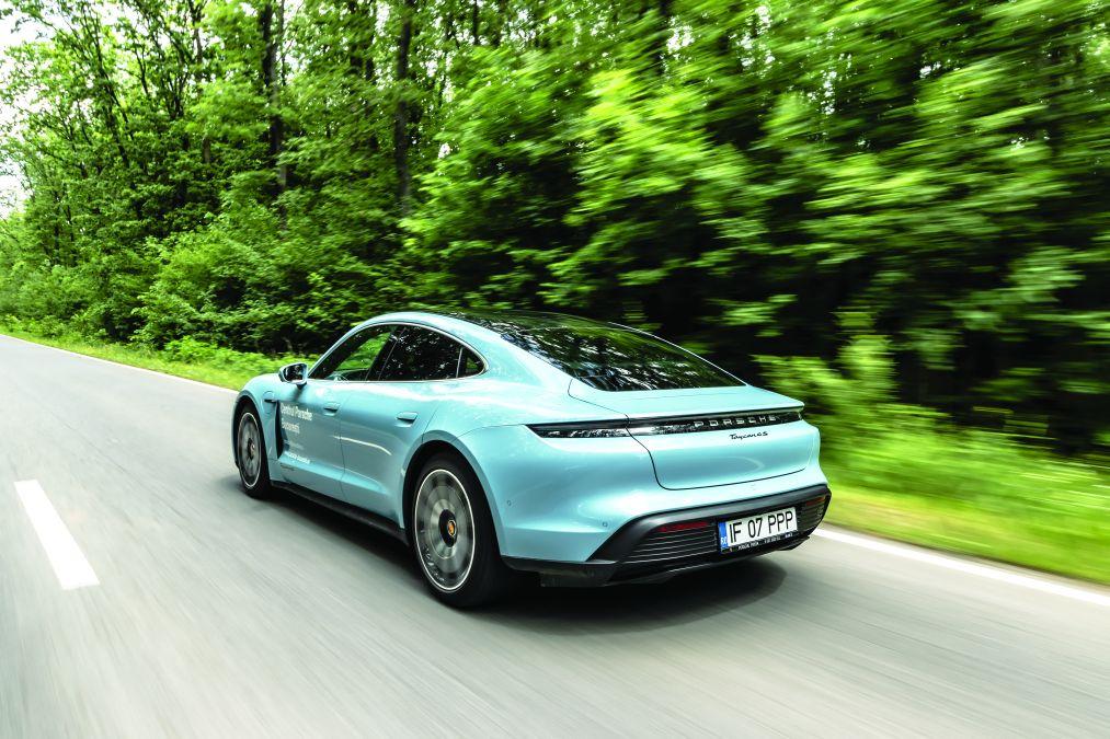 test Porsche taycan 4S 2020