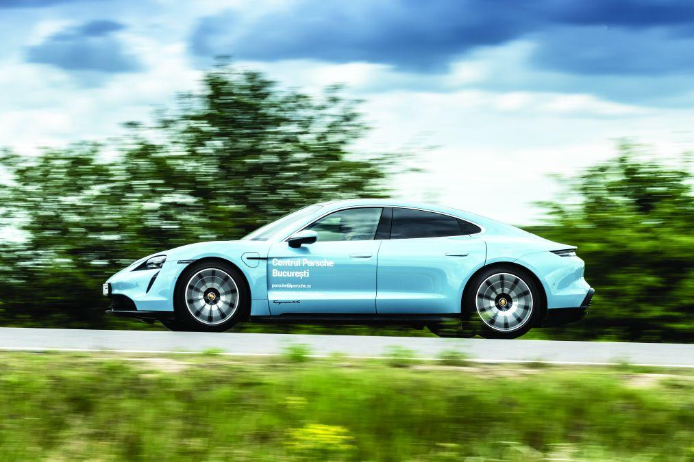 test Porsche taycan 4S