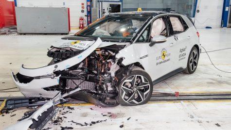 VIDEO: Volkswagen ID.3 a obținut 5 stele la testele EuroNCAP