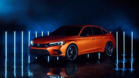 Honda Civic: primele imagini cu prototipul noii generații a sedanului compact