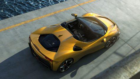 SF90 Spider – cel mai puternic supercar de serie Ferrari în variantă cabrio