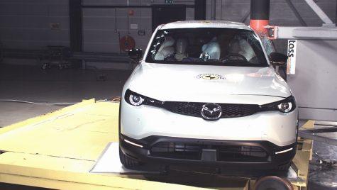 Cinci stele pentru Mazda MX-30 și Honda Jazz la testele EuroNCAP