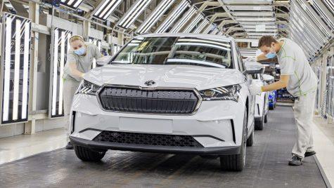 Producția modelului Skoda Enyaq iV a debutat la uzina de la Mlada Boleslav