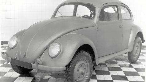 75 de ani de la intrarea în producție a modelului VW Beetle