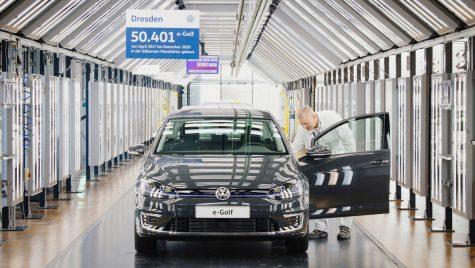 Volkswagen încheie producția modelului e-Golf