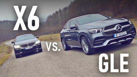 VIDEO: Test comparativ Mercedes GLE Coupe vs BMW X6
