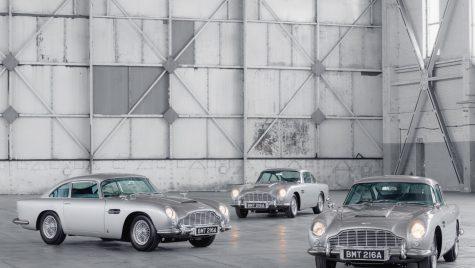 Aston Martin a livrat primele exemplare ale modelului DB5 Goldfinger Continuation