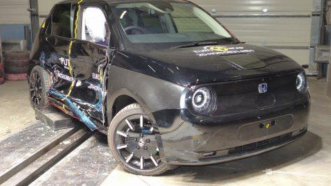 EuroNCAP: patru stele pentru modelul electric Honda e
