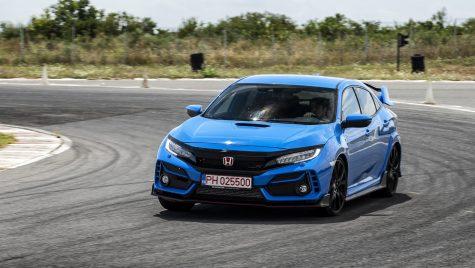 VIDEO: Test drive cu Honda Civic Type R facelift