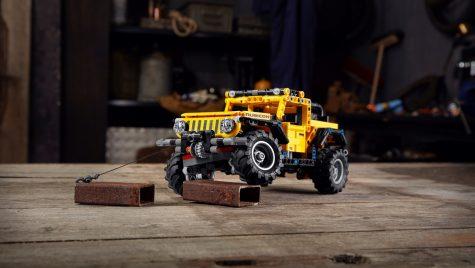 Jeep Wrangler Rubicon primește versiune Lego Technic