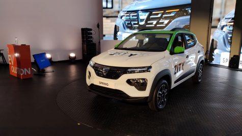 Primul contact cu Dacia Spring
