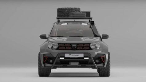 Dacia Duster Offroad Widebody: versiune spectaculoasă propusă de Prior Design