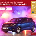 """Dacia Sandero este Mașina Anului 2021 pe site-ul """"What car?"""""""