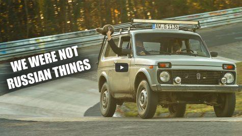 Lada Niva pe Nurburgring: video