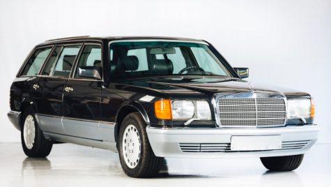 Mercedes-Benz 560 SEL break a existat în realitate