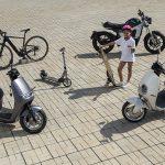 Test comparativ vehicule electrice: longboard, trotinetă, bicicletă, scuter sau motocicletă?