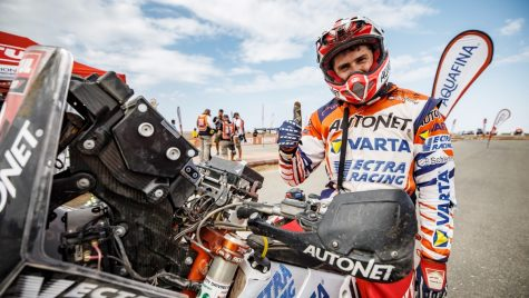 Emanuel Gyenes s-a clasat pe locul 2 la clasa Malle Moto în Dakar 2021