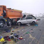 Accident grav de circulație pe autostrada A1 lângă Sibiu
