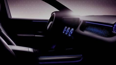 Mercedes-Benz EQA: prima imagine cu interiorul noului model electric