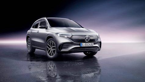 Mercedes-Benz EQA: noul SUV electric are o autonomie de 420 km